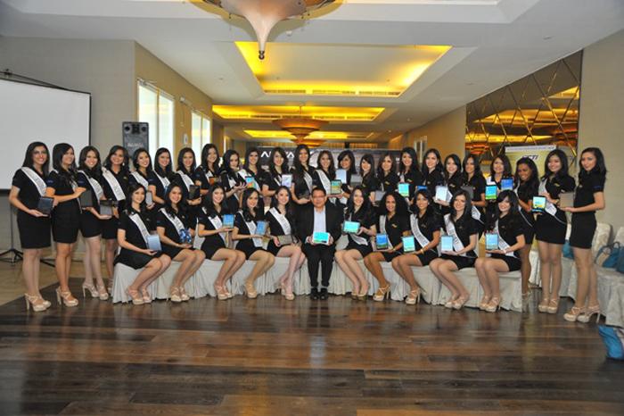Advan hadirkan Vandroid T5C di Malam Puncak Miss Indonesia 2014