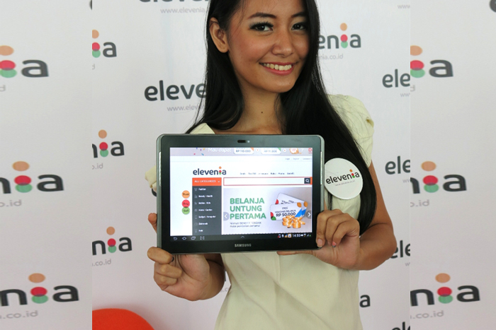 Elevenia marketplace terbaru  joint venture XL Axiata dan SK Planet