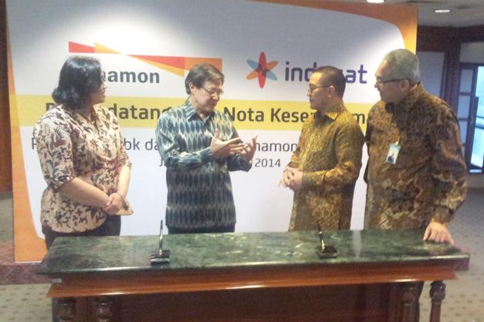 Indosat menghadirkan layanan telekomunikasi & perbankan kepada masyarakat