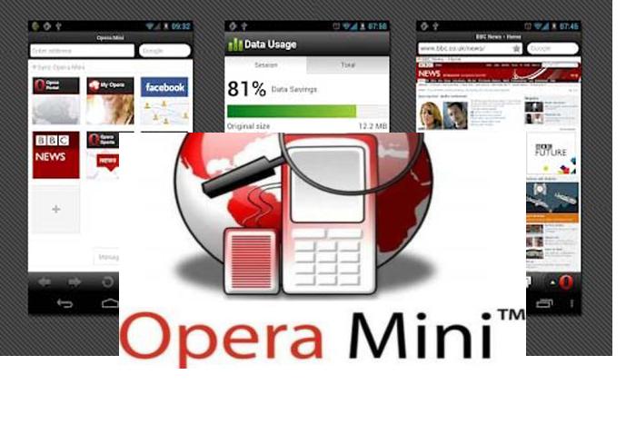 Tampilan Baru Opera Mini 8 bagi Perangkat Mobile