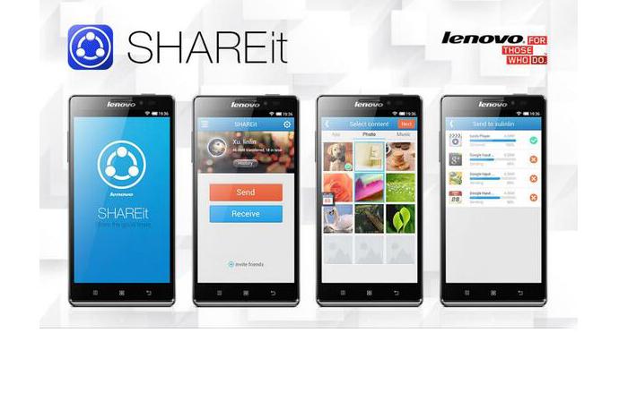 Lenovo perkenalkan aplikasi SHAREit untuk penggunanya