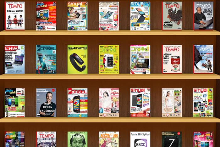 Download Majalah Digital Sepuasnya di Indobooks Rp.2000 per hari