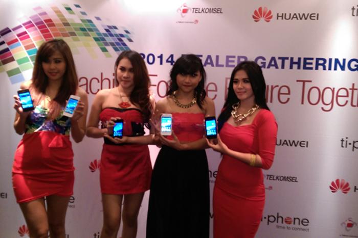 Huawei hadirkan Ascend Y320, berkualitas haraga terjangkau