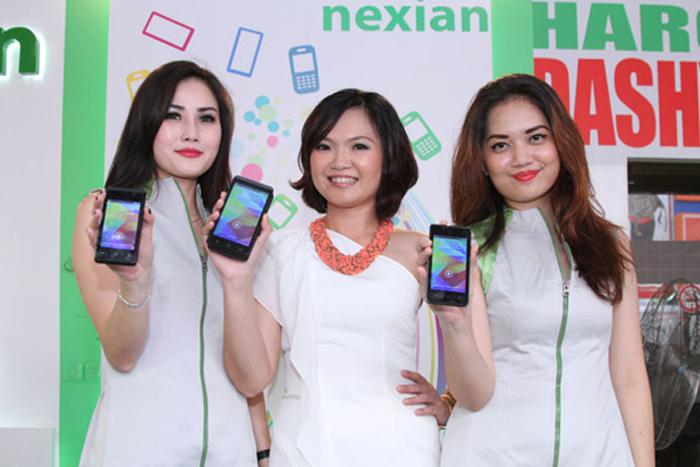 Nexian Luncurkan Tiga Smartphone dengan Harga Terjangkau