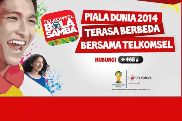 Nonton Bareng seru Final Piala Dunia 2014 'Telkomsel Bola Samba'