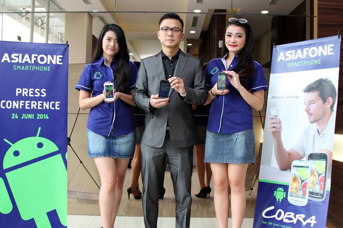 ASIAFONE 'COBRA' Smartphone Hebat dengan Harga Bersahabat