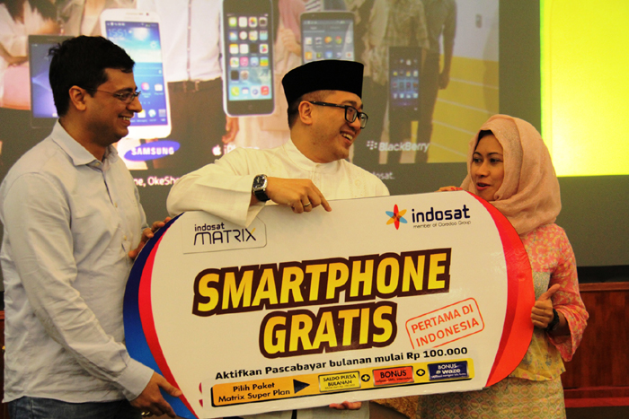 Henpon Gratis Ala Indosat Matrix Super Plan