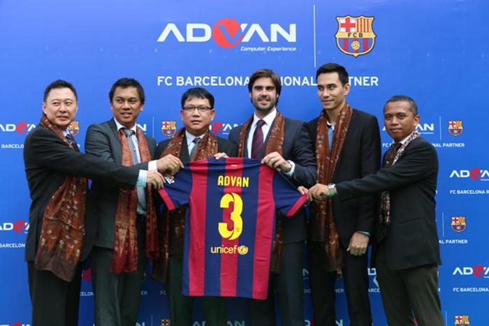 Advan Kolaburasi dengan FC Barcelona untuk Henpon & Tablet