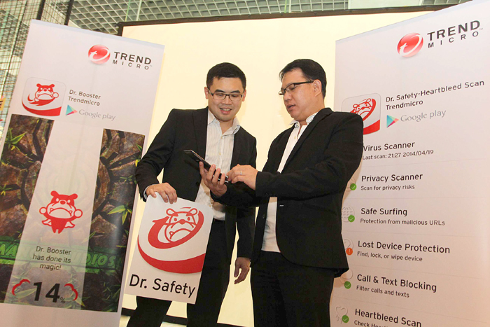 Smartphone Advan dilindungi oleh Trend Micro