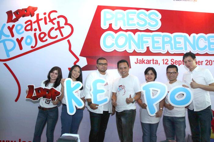 LOOP KePo (Kreatif Project) Ajak LOOPers Jadi Digital Creator