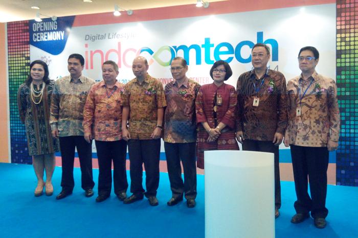 Indocomtech 2014 menggelar bidang telekomunikasi, komputer, software, game & aksesoris