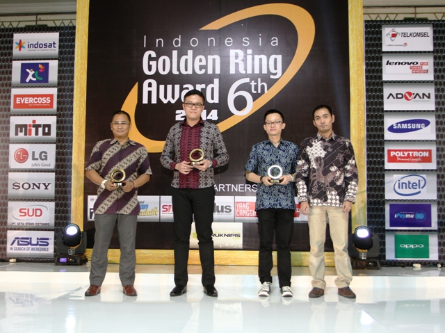 Photo of Golden Ring Award Ke-6 , Smart Living with LTE