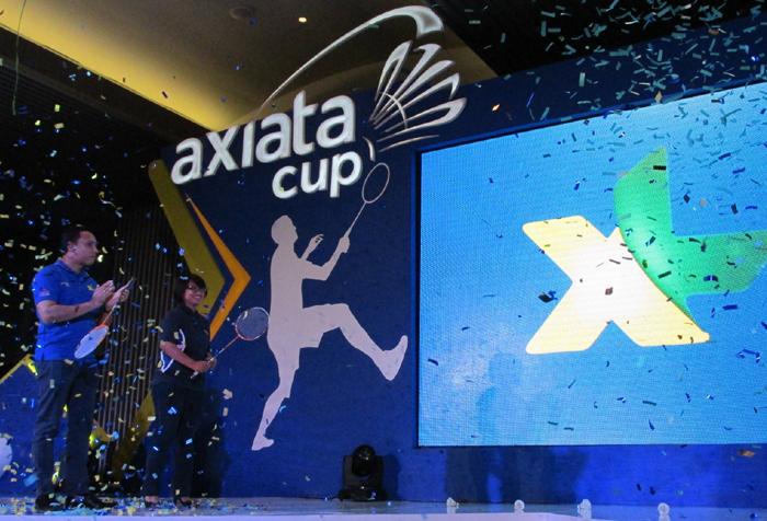 Turnamen Bulutangkis Axiata Cup 2014 Berhadiah 1 Juta Dolar US Kembali Digelar