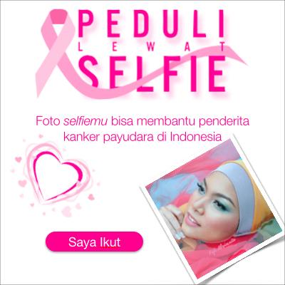 Peduli lewat selfie
