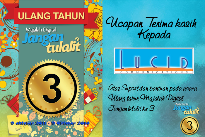 Photo of Terima Kasih Untuk Lucid Communications