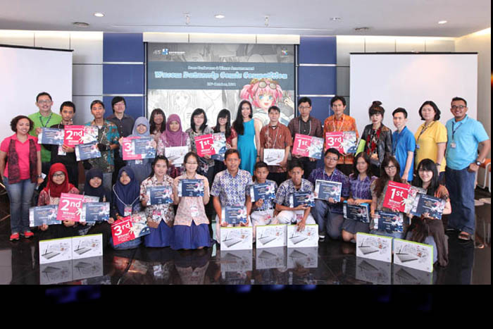Wacom Datascrip Comic Competition , Hadirkan Komikus generasi Baru