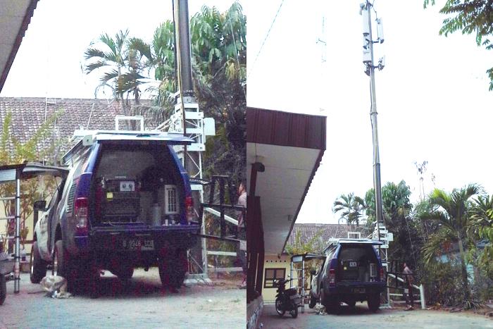 Di Bencana Tanah Longsor Banjarnegara, XL Kerahkan Mobile BTS
