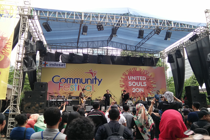 "Photo of Indosat Gelar Community Festival 2014 Bertema ""United Souls"""