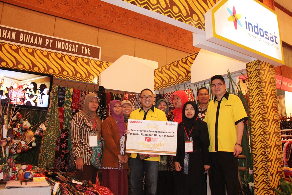 Photo of Indosat Ajak Pengusaha Perempuan &  Industri Rumahan Tampil di  Katumbiri Expo 2014