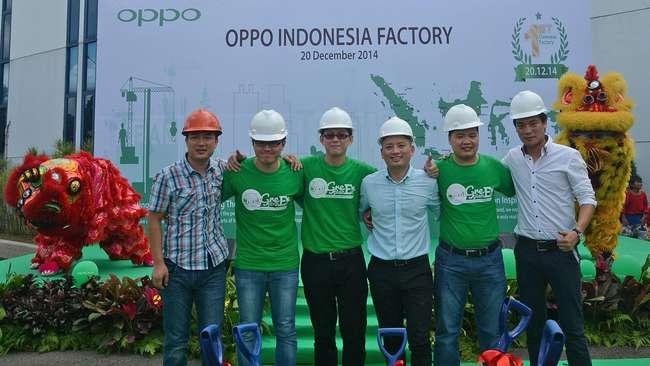 OPPO Mulai Proses Renovasi Pabrik di Indonesia
