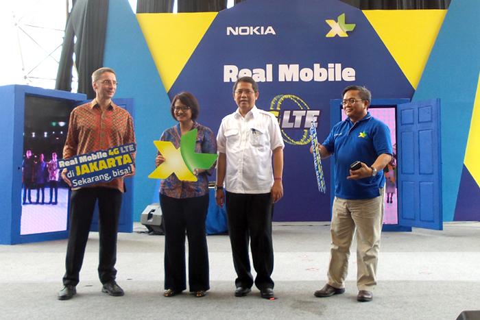 Layanan 4G LTE XL meluncur di 3 Kota, Bogor, Yogyakarta dan Medan