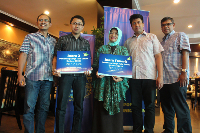 XL Awards 2014 Tetapkan 21 Pemenang, Total Hadiah Lebih dari Rp.190 Juta
