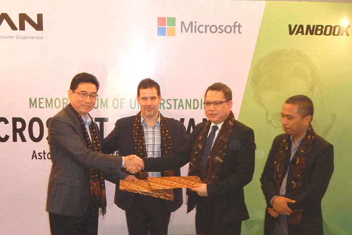 Kerjasama Advan-Microsoft  Era baru  Tablet PC Windows brand Lokal