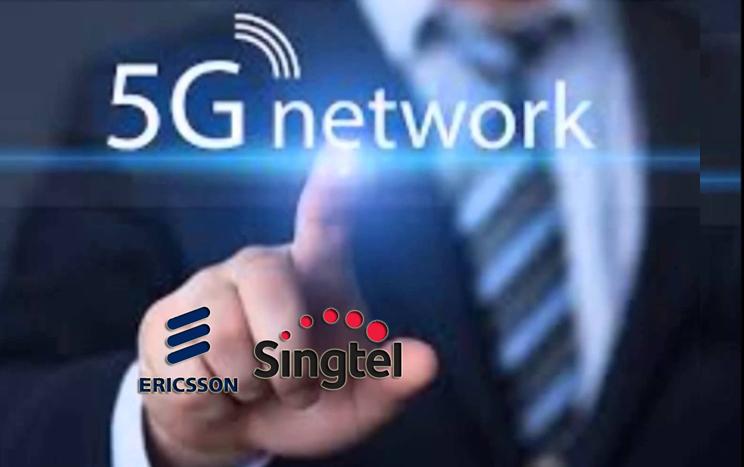 Singtel dan Ericsson bermitra Mengekplorasi Masa Depan 5G