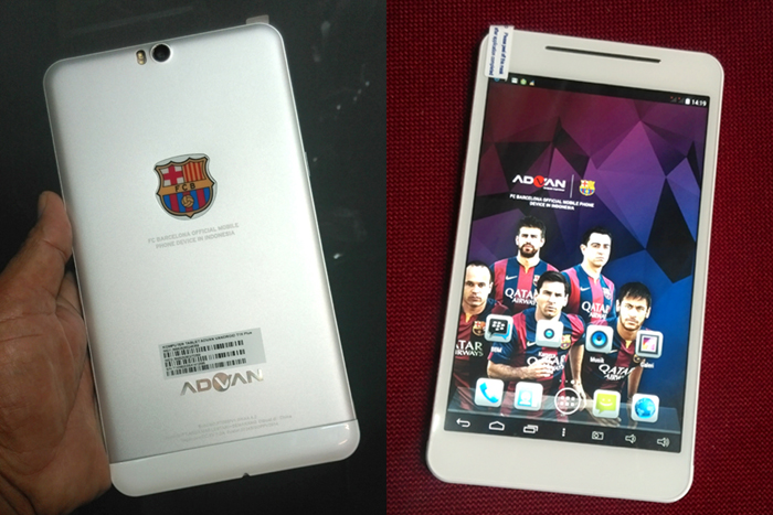 Photo of Tablet ADVAN Barca Hebat untuk Para Pecinta Barca