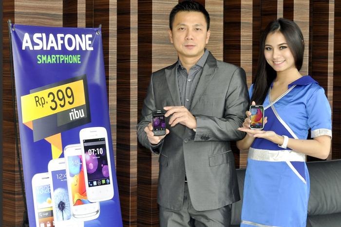ASIADROID AF77 Smartphone harga terjangkau dari ASIAFONE