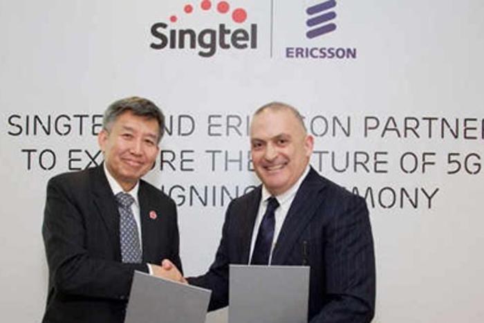 Ericsson dan Singtel  ok