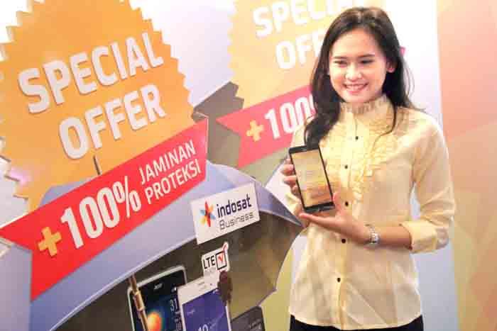 Indosat Luncurkan Paket Bundling Smartphone plus Proteksi