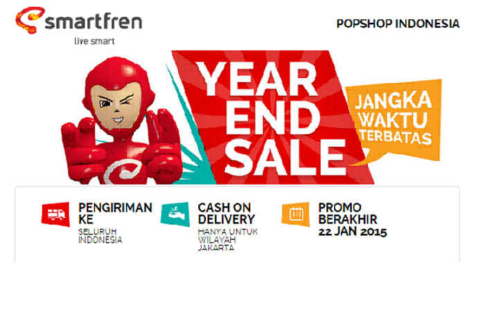 "Photo of Smartfren hadirkan Toko Online ""POP Shop"""