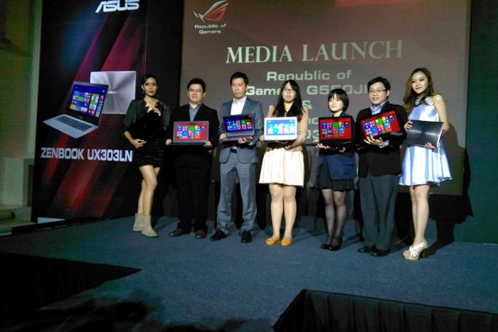 ASUS meluncurkan Notebook Republic of Gamers dan Ultrabook Zenbook
