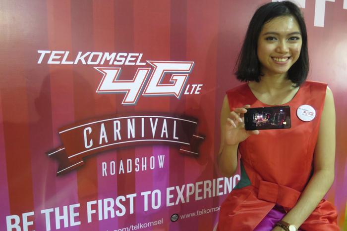 Mobile Digital Lifestyle Telkomsel 4G LTE Carnival hadir di Bali