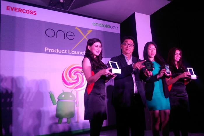 EVERCOSS meluncurkan Android One™ dengan nama One X