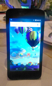 Evercoss Android one X 3