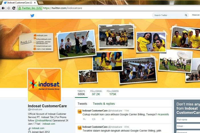 INDOSAT Mengecam Penggunaan SosMed hingga Merugikan Pelanggan