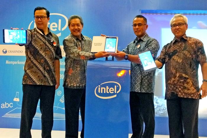 Intel Memperkenalkan Model Belajar Digital Melalui GramediaBook™