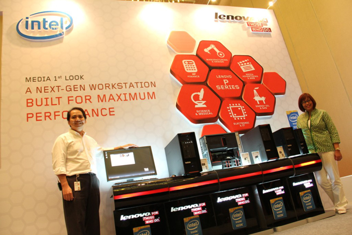 Lenovo  ThinkStation P Series PC dengan kemampuan Super