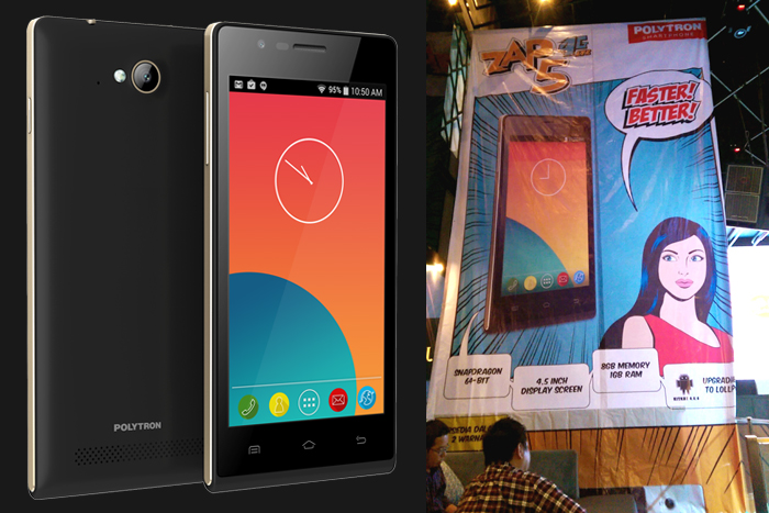 ZAP5 Smartphone Brand Lokal Pertama ready 4G LTE