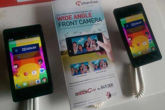 Andromax C2s, Smartphone dengan Dual Kamera sebesar 5 MP