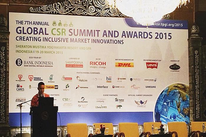 Huawei  Berpartisipasi  dalam Global CSR Summit 2015