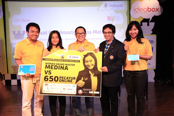 INDOSAT Gelar Kompetisi Catur Online Secara Simultan Terbesar di Indonesia dan Dunia