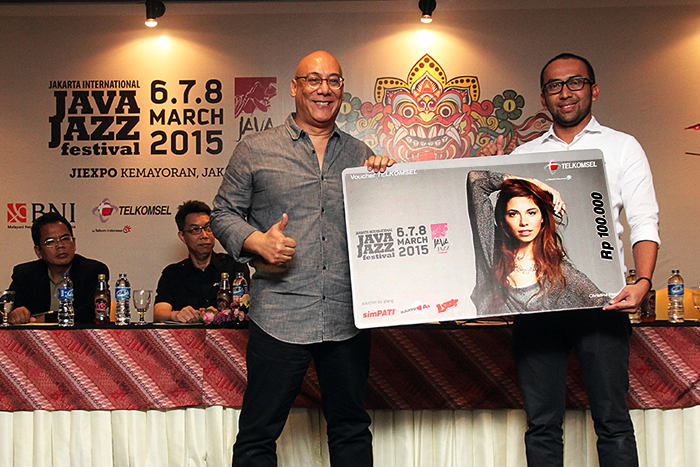 Telkomsel Hadirkan Pengalaman 4G LTE di  International Java Jazz Festival 2015