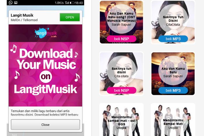 LangitMusik kasih Akses Musik Gratis di Hari Musik Nasional