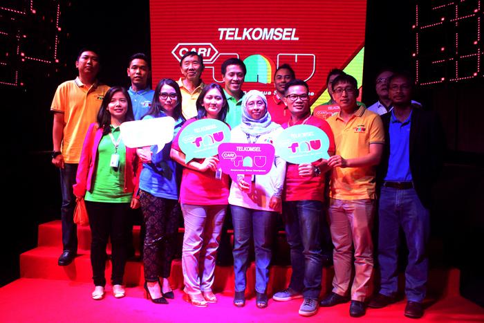 Telkomsel Berikan Edukasi Lengkap Manfaat Smartphone & Internet  Lewat Mobile Site CARITAU