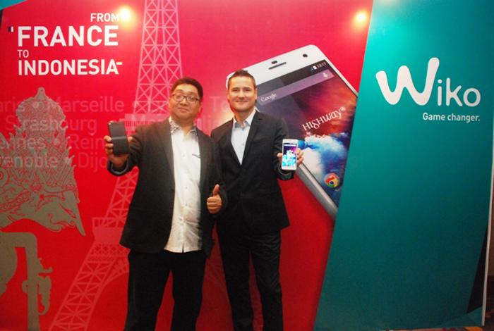 WIKO Smartphone Asal Perancis kini Hadir di Indonesia