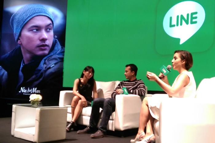 LINE Menghadirkan Mobile Drama, menampilkan Nicholas Saputra dan Mariana Renata