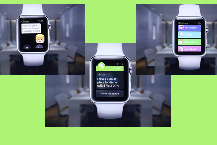 WeChat Sudah Terintegrasi ke Apple Watch